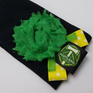 Bad Cat Craft Accessories - PORTLAND TIMBERS HEADBAND ROSE CITY MLS SOCCER